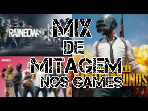 MIX DE MITAGEM NOS GAMES COM MUSICA 8D