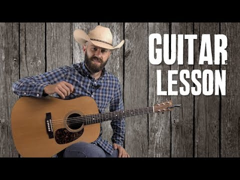 Red River Valley - Easy Guitar Lesson - Country & Bluegrass