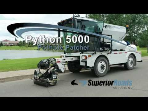 SuperiorRoads Pothole Patcher (2016)