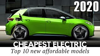 10 Cheapest Electric Cars Priced Below Tesla Vehicles in 2020 (Comparison of Specifications)
