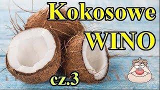 Wino Kokosowe cz.3 - eksperyment - wyciskamy wiórki kokosowe praską