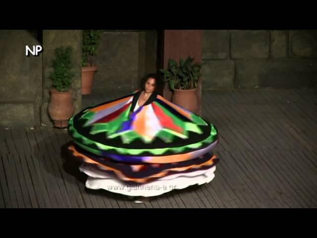 Samah Gayed al 37 Congresso Internazionale della Danza, Atene 2014