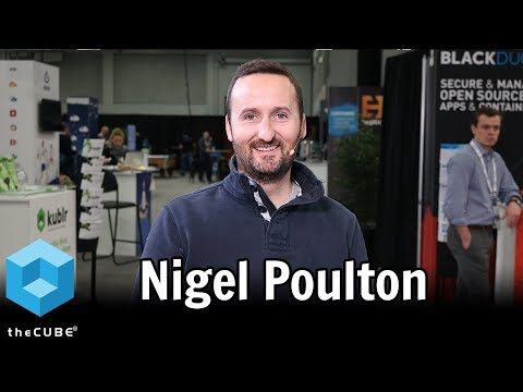 Nigel Poulton, The Kubernetes Book | KubeCon 2017