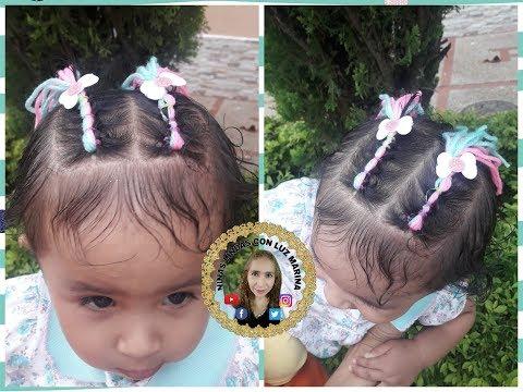 Peinado Con Lana Para Bebes Paso A Paso Facil Video Soobshestvo