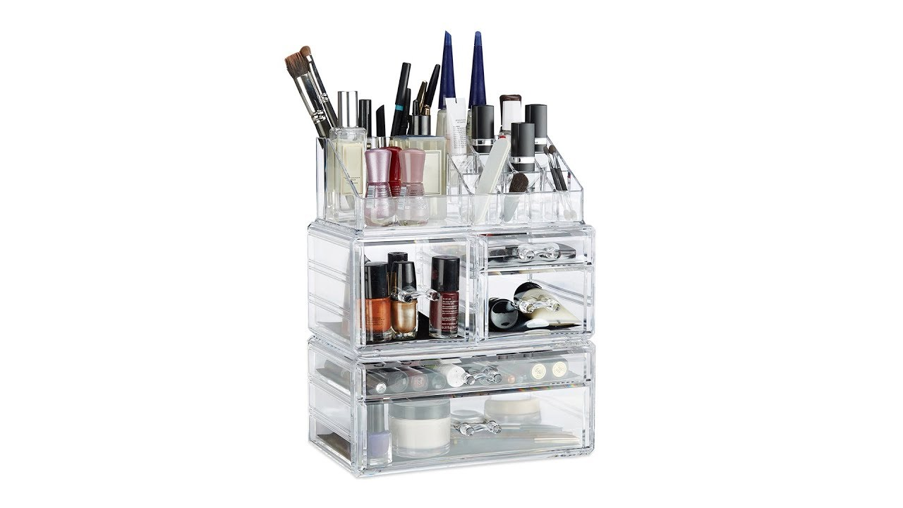 Video von: Acryl Make Up Organizer mit 21 Fächern
