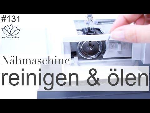 Nähmaschine reinigen und ölen - mit Anna von einfach nähen