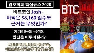 3/2) 비트코인 Josh - 바닥은 $8,160 ?! 근거는 무엇인가? 이더리움의 극적인 반전은 이루어질까?