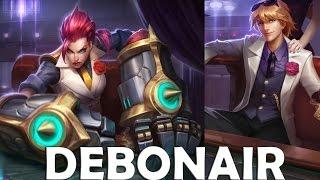 Debonair Ezreal And Vi  Skins Spotlight Gameplay - League Of Legends