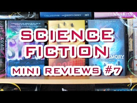Mini Book Reviews #7 – Science Fiction Teen Books (No Spoilers)