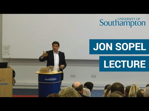 The truth, the post truth, and nothing but no truth, so help me God | Distinguished Lecture | UoS