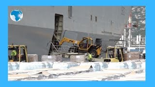 French naval ship arrives in Reunion  to provide coronavirus aid