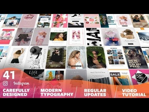 Favorite IGTV Sales Stories Template Pack 2019 - смотреть