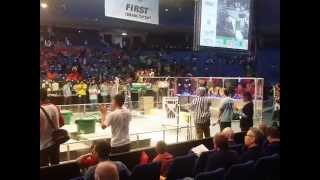 preview picture of video 'FRC Team 5135 Recycle Rush 2015 Israel Regional part 5'