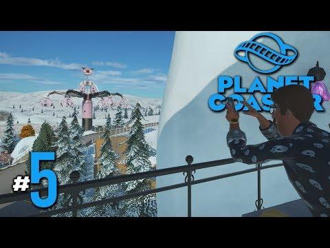 พยัคฆ์ร้ายซ้ายขวา - Planet Coaster #5(มีต่อเติม)