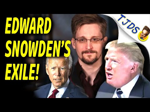 EDWARD SNOWDEN Persecuted By BIDEN!