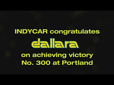 Dallara's 300th Win In IndyCar