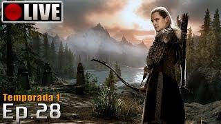SKYRIM - Legolas Role Play! (PC - Mods - PTBR) Temporada 1 - Ep.28
