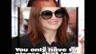 """Dark Sunglasses (""""Chrissie Hynde"""")"""