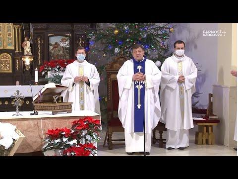 Panny Márie Bohorodičky - sv. omša (01.01.2021)