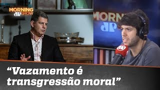"""Caio sobre Bebianno: """"Vazamento é transgressão moral"""""""