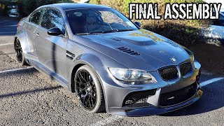 Final Assembly on Kyles E92 BMW 3 Series