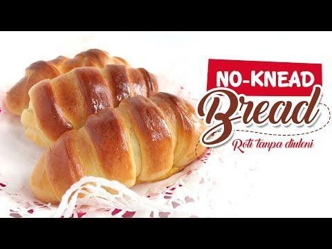 Video Easy No-Knead Bread | Roti Empuk & Mudah tanpa diuleni