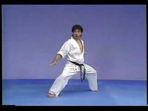 Karate kyokushin kata Gekisai sho