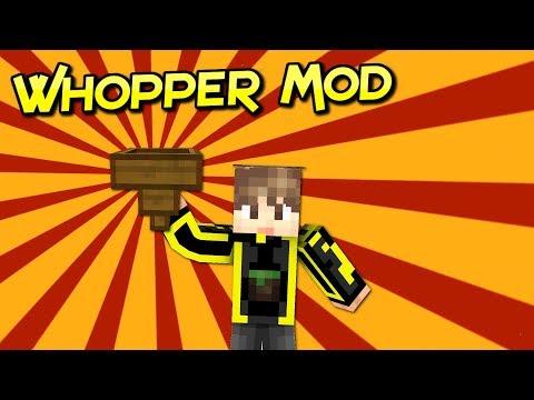 Whopper Mod   La Tolva Que Necesitas Para Tu Aventura   Para Minecraft 1.12.2   Review En Español