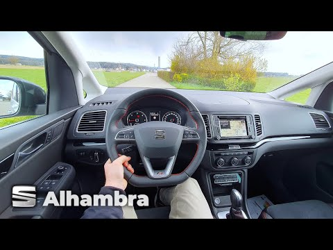 New Seat Alhambra Hola FR 2021 Test Drive Review POV