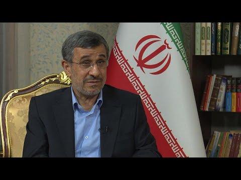 Ο Μαχμούντ Αχμαντινετζάντ στο Euronews