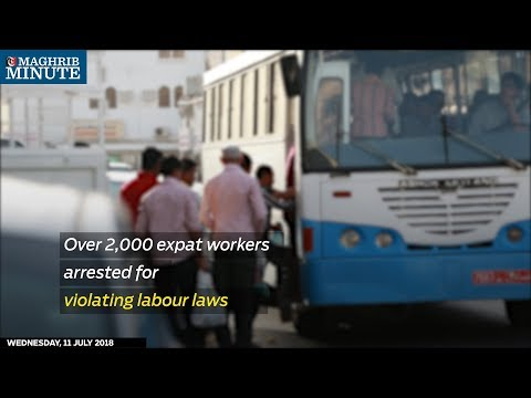 Over 2,000 expat workers arrested for violating labour laws