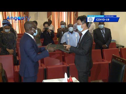 Angola e Japão assinam acordo para expansão de televisão digital