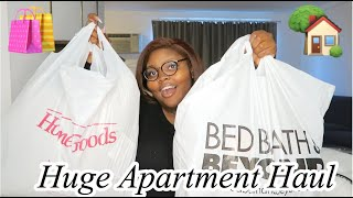 Huge Affordable Apartment Haul! First Apartment Essentials.