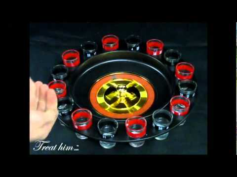 Ruleta de chupitos - Drinking Roulette Set.wmv