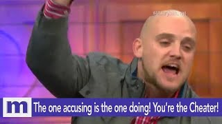 The One Accusing Is The One Doing..You're The Cheater! | The Maury Show