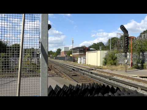 Freightliner 70009 powers through Winchester 31st July 2016