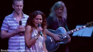 RENT REUNION -  Daphne Rubin-Vega & Adam Pascal (One Song Glory, Light My Candle, Another Day)