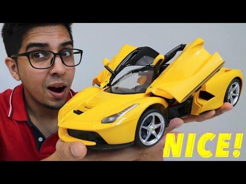 UNBOXING & LETS PLAY – 1/14 Scale La Ferrari RC car – RaStar – FULL REVIEW!