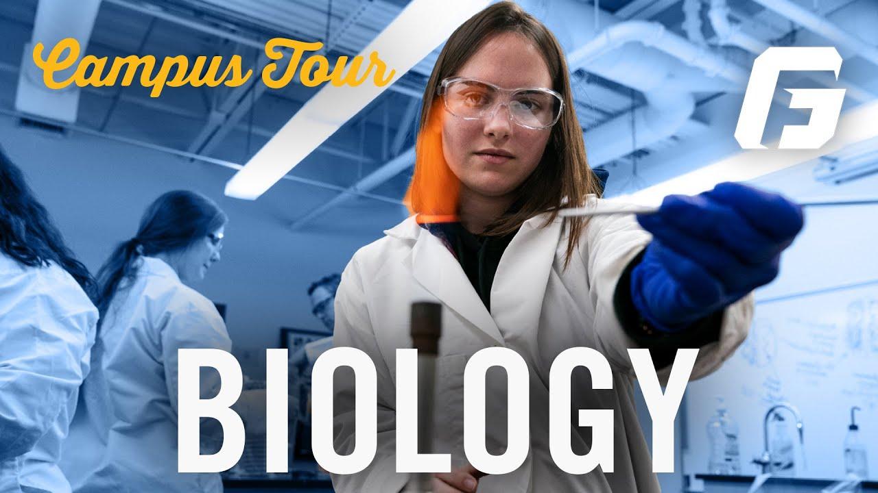 Watch video: Campus Tour: Biology Department | George Fox University