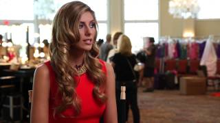 Camille Cerf France Miss Universe 2014 Official Interview