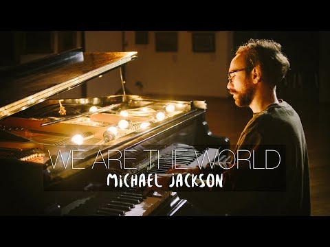 WE ARE THE WORLD - Michael Jackson (Piano Cover) | Costantino Carrara