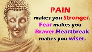 Beautiful Buddha Quotes on Better Understanding. Learn English Through Buddha Quotes.