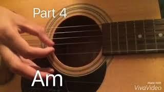 Damian Jurado- Ohio (finger-style guitar tutorial)