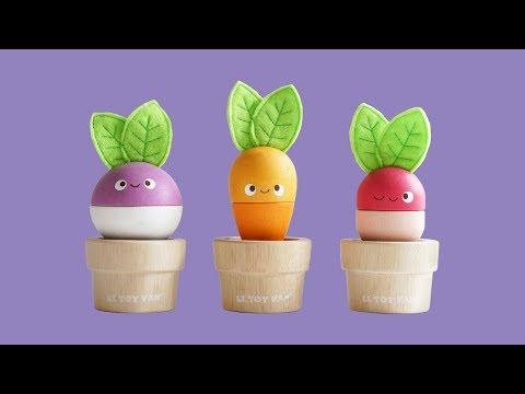 Le Toy Van Stacking Veggies