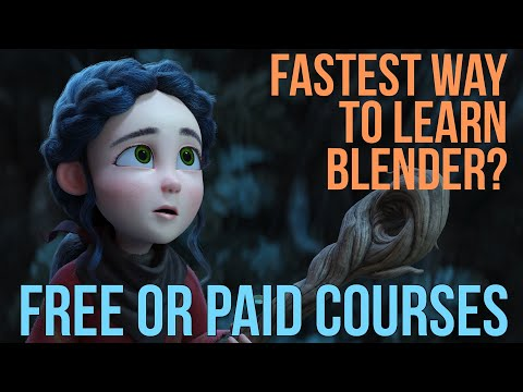 Learn Blender Fast | Can free courses be as good a paid for courses?