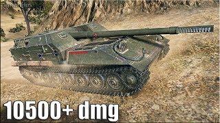 Объект 263 устроил ЭКШЕН на 10500 dmg 🌟🌟🌟 World of Tanks лучший бой на пт сау 10 уровня