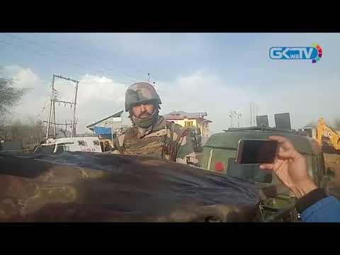 Militants, forces exchange brief fire in Kokernag; searches underway