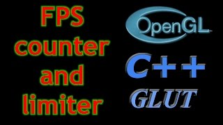Determining the frame rate of an OpenGL application using the time.h library of C++ and limiting the rate using timer function of the glut library ( glutTimerFunc() )
