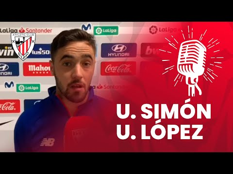 🎙 Unai Simon eta Unai Lopez I Atlético de Madrid 2-0 Athletic Club I post-match