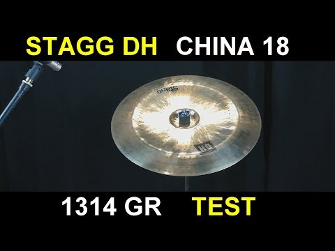 Stagg DH china 18 test 1314 gr #25